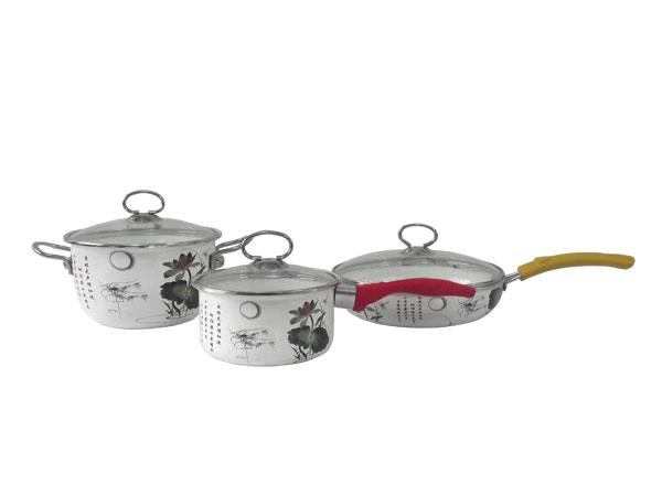 三件套锅组合